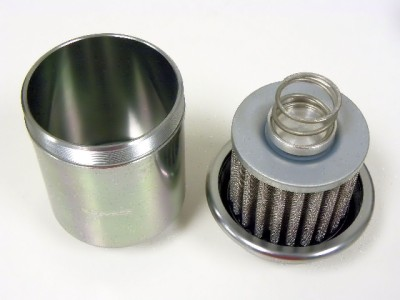 92 honda accord fuel filter 92-01 honda prelude billet racing high flow fuel filter | ebay