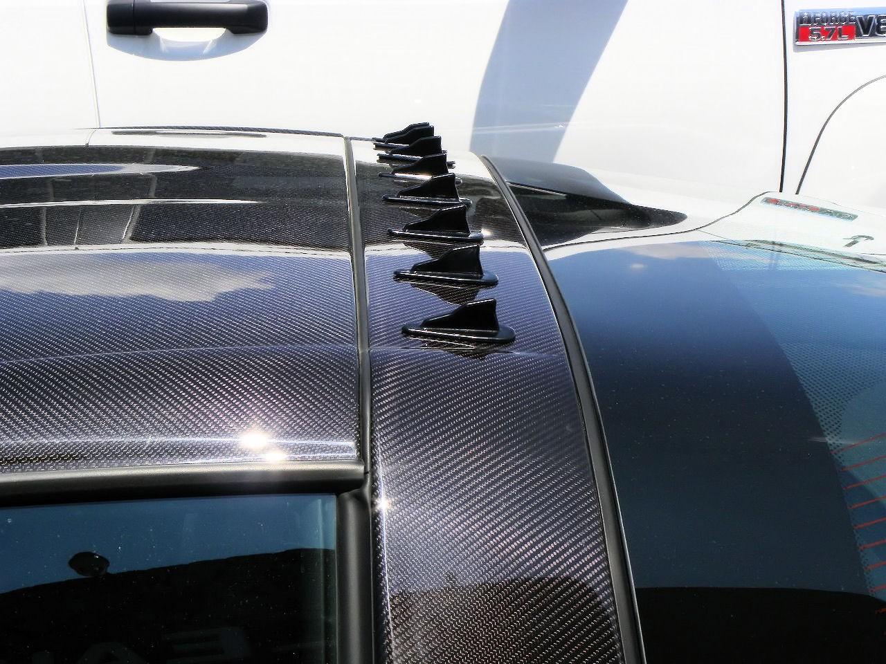 Lol @ vortex generators (shark fin spoiler wing kit ...