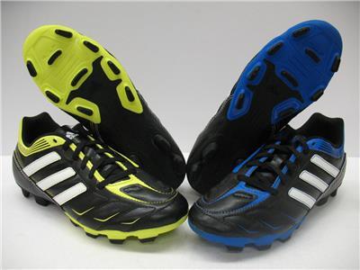 5fb8b0c71 Adidas Ezeiro III TRX FG Soccer Rugby Lacrosse Shoes Cleats Boys Girls Youth  4.5