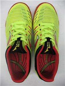 3bad6c5e115 Joma Super Regate 311 Indoor Soccer Futsala Shoes Sneakers Neon Yellow Red  Mens