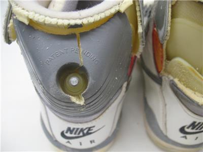 705fa14c017 Rare Retro NIKE Original OG 1989 Air Pressure Shoes Sneakers Pump + ...