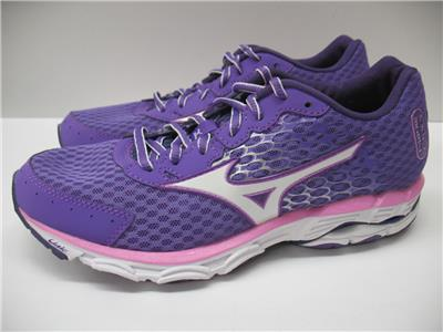 online store 04ec0 a5c8f Mizuno 410637 Wave Inspire 11 Running Training Shoes Sneakers Purple Womens