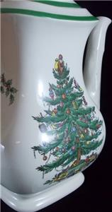Spode CHRISTMAS TREE Coffee Pot S3324 No Signs Of Use GREAT  - Spode Christmas Tree Coffee Pot
