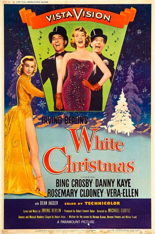 White Christmas Movie.Details About White Christmas Movie Poster 27 X 40 Bing Crosby Danny Kaye D Licensed New