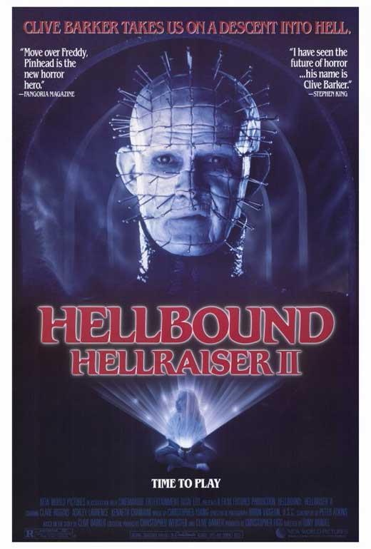 Clare Higgins NEW Hellraiser 2 Movie POSTER 11 x 17 Hellbound Ashley Laurence