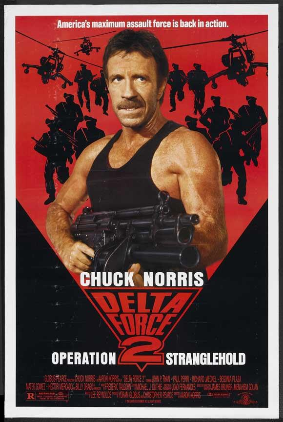 MCP544 Posters USA Chuck Norris Lone Wolf McQuade Movie Poster Glossy Finish