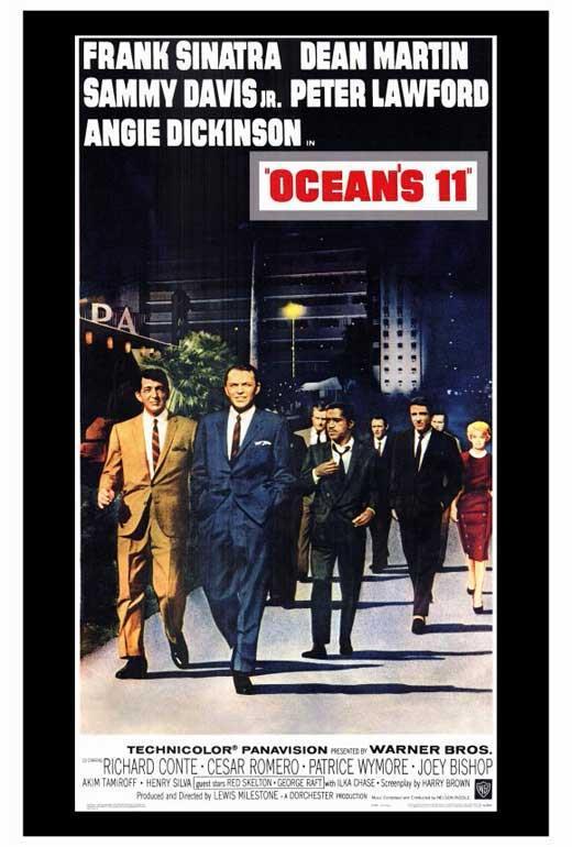 LICENSED USA NEW Frank Sinatra Ocean/'s 11 Movie POSTER 27 x 40 A Dean Martin