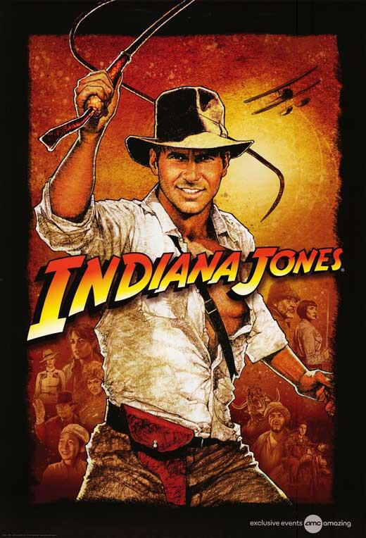Image result for indiana jones poster