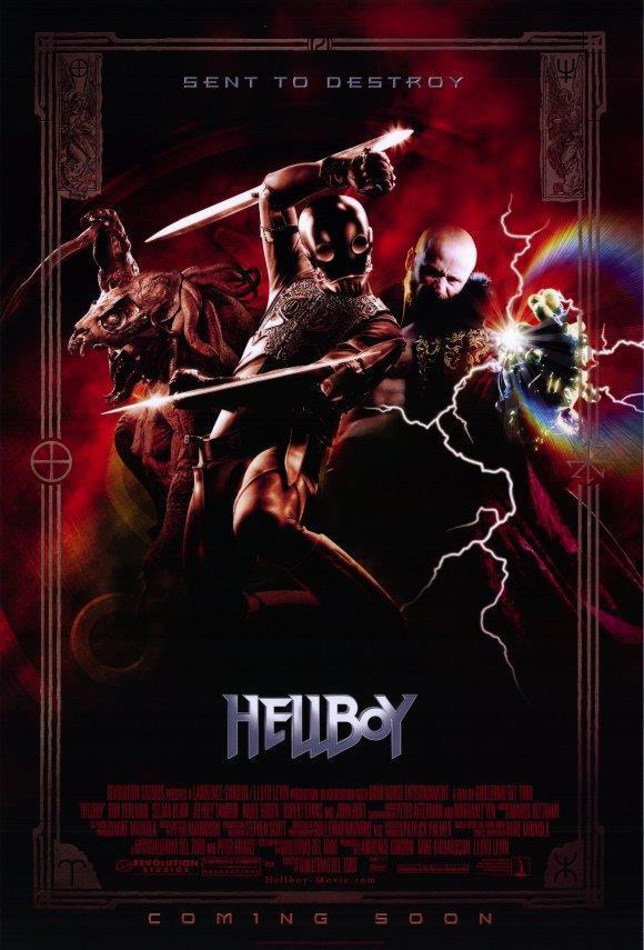 Selma Blair Ron Perlman E USA NEW Doug Jones Hellboy Movie POSTER 11 x 17