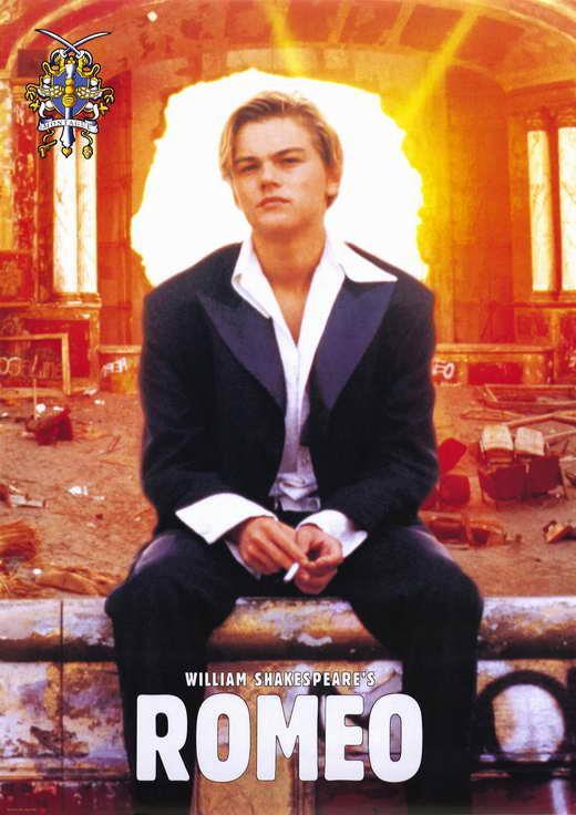 A USA NEW Romeo and Juliet Movie POSTER 11 x 17 Leonardo DiCaprio Claire Danes