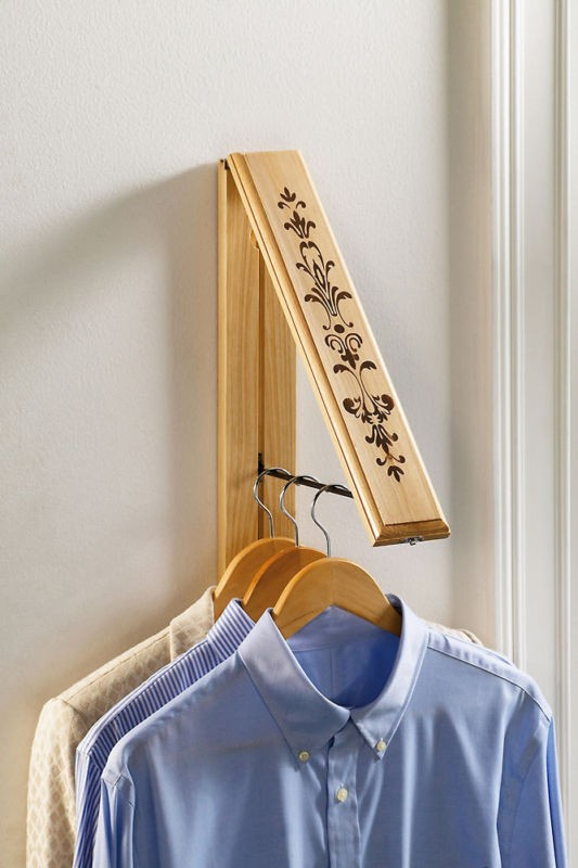 New Space Saving Colapsable Wall Mounted Clothes Rack
