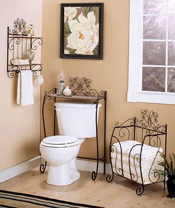 New Beautiful Butterfly Bathroom Collection Bathroom Shelf
