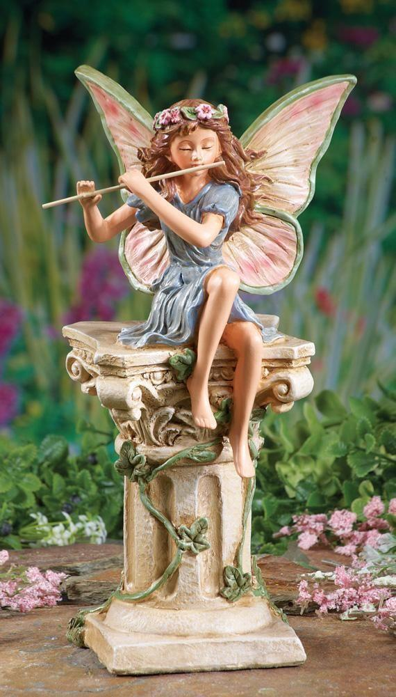 Garden Statue Fairy: NEW Fairy Memorial Garden Stone Statue