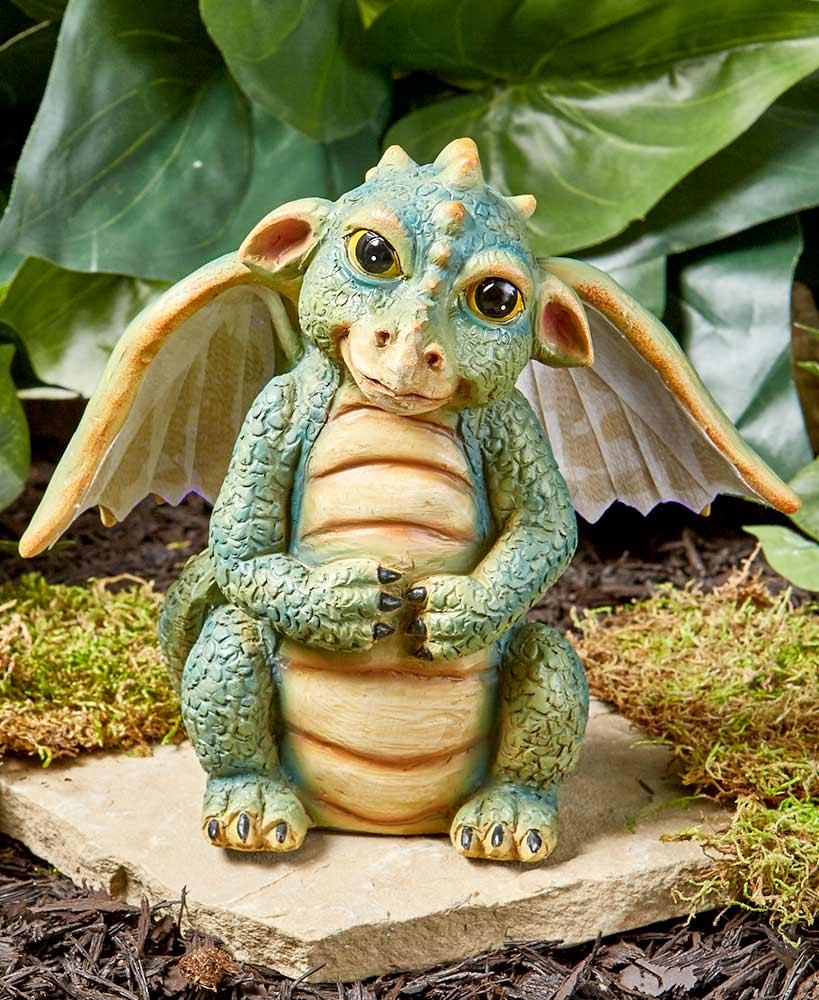 Fiber Optic Lighted Mythical Dragon Amp Baby Dragons