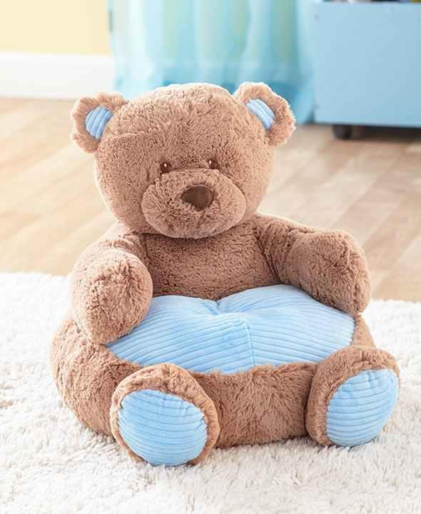 This Kidsu0027 Plush Animal Chair Is The Perfect Place For Your Little One To  Kick Back And Relax. Theyu0027ll Love This Ultra Soft Chair Thatu0027s Shaped Like  Their ...