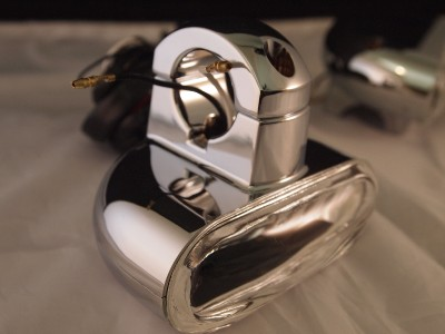 Harley Davidson Fog Lamp Kit Engine Guard Mounted 68913 98