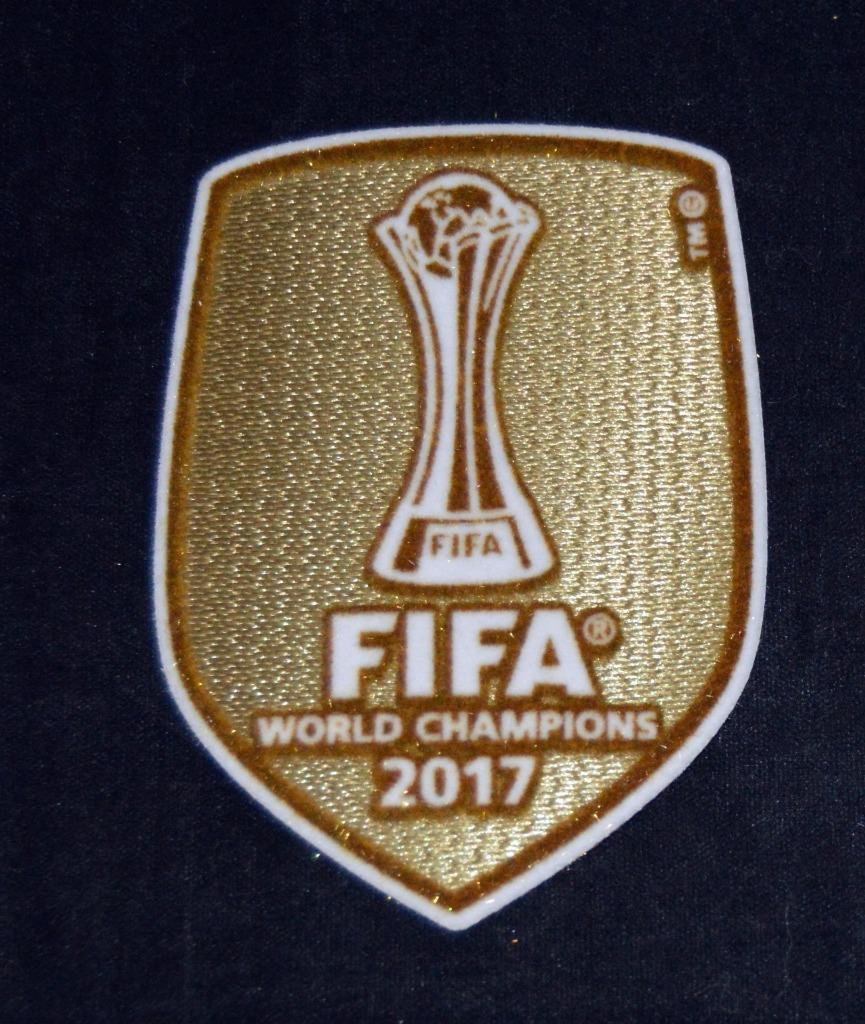 2be30b8ec Official Real Madrid 2017 Fifa World Club Cup Champions Patch Badge Lextra