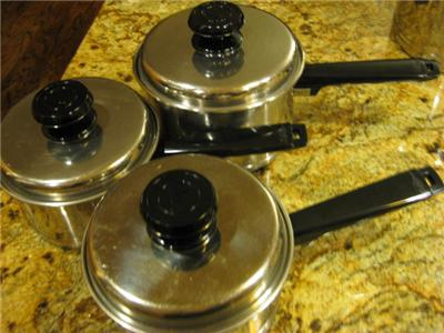 West Bend Lifetime Cookware 12 Pieces Usa Stainless Steel