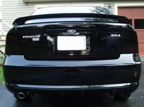 05 07 ford focus zx4 smoke tail light precut tint cover smoked overlays ebay. Black Bedroom Furniture Sets. Home Design Ideas