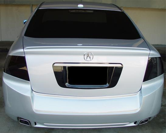 REVERSE LIGHTS 2004-2008 Acura TL Smoked Side Markers Tint Kit Front AND Rear