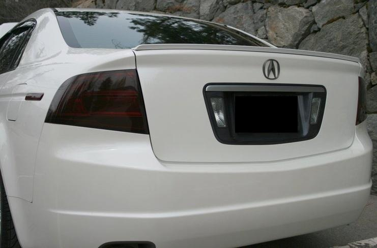04 08 acura tl smoke tail light precut tint cover smoked overlays ebay rh ebay com 2011 Acura TL Tail Lights All Red 2008 Acura TL Type S