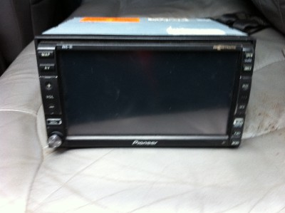 pioneer avic d1 navigation double din touch screen radio. Black Bedroom Furniture Sets. Home Design Ideas