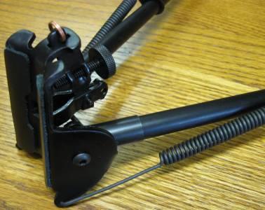 """Nouveau Harris Model H1A2 13 1//2/"""" pour Rigid 23/"""" bipode Bench Prone Sling Swivel Mount"""
