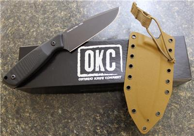Ontario Okc 1775 Cerberus Fixed Blade Tactical Knife D2