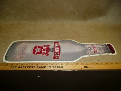 Smirnoff Ice Cardboard Hanging Display Wine Cooler Sign