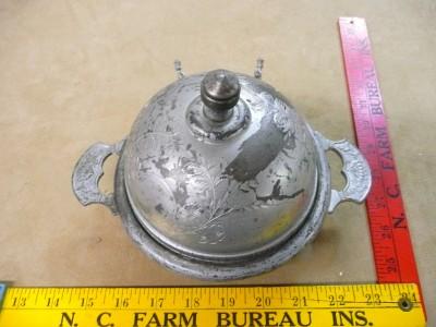 Antique Derby Silver Co Silverplate Quadruple Plate