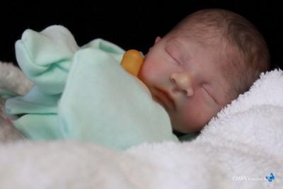 "Reborn Vinyl Doll Kit Supply Baby Caleb by Heather Boneham 14"" Lifelike 7165"