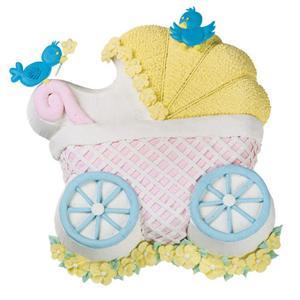 Wilton Baby Buggy Carriage Shower Fun Cakepan 2105 3319 Ebay
