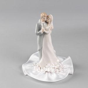 Pastel Dancing Couple Bride Amp Groom Cake Topper With