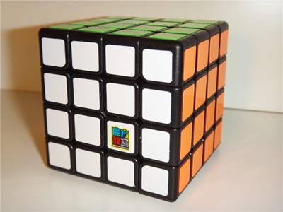 MoYu MoFangJiaoShi MeiLong 4x4x4 Black Speed Cube USA Stock