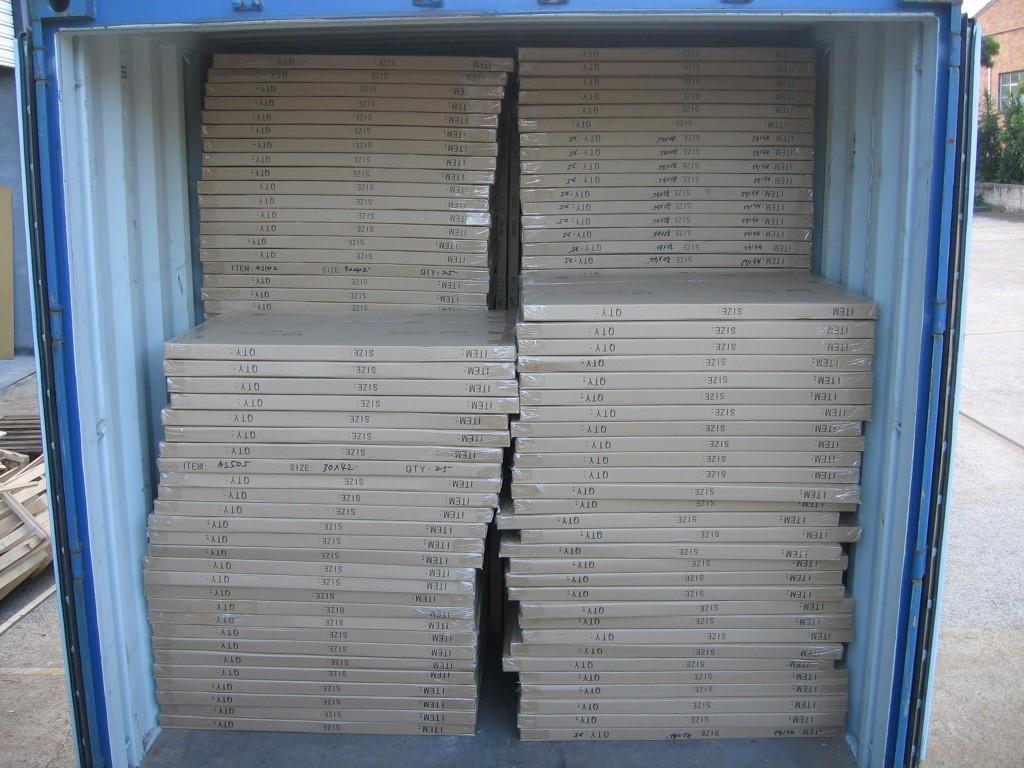 """CLEARANCE SALE_____30""""X4<wbr/>2""""/1.4mm pure white core acid free matboard--CREA<wbr/>M COLOR"""