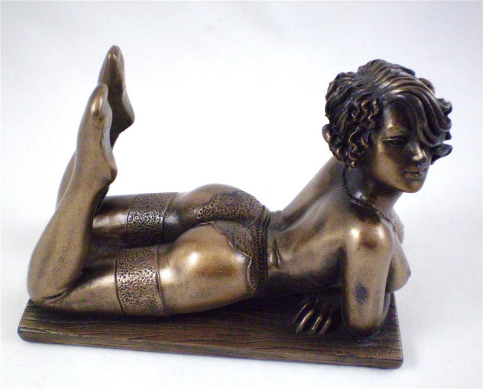 resin figurine naked