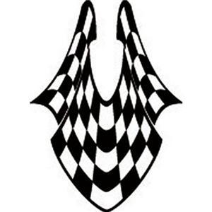 Checkered Race Flags Vector Clip Art For Sign Vinyl Cutter