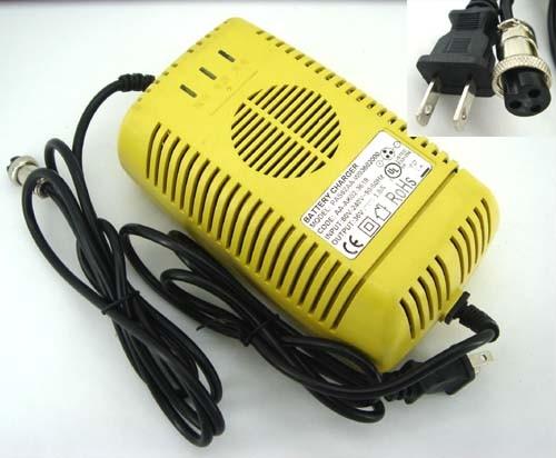 battery charger for electric bike scooter 36v 36 volt. Black Bedroom Furniture Sets. Home Design Ideas