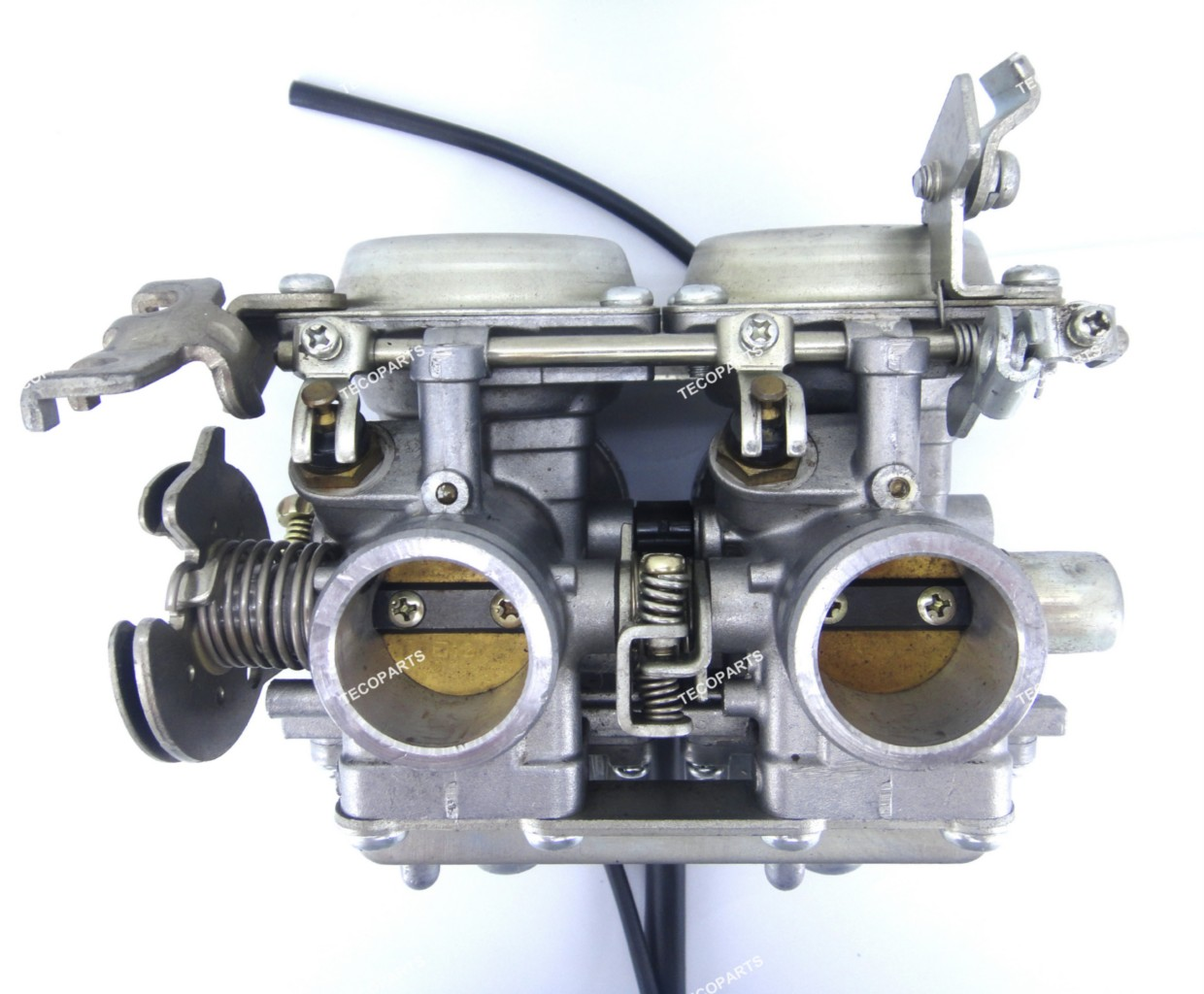 genuine mikuni corp twin carburetor carb bs26 b55 made in japan for honda cb125t ebay. Black Bedroom Furniture Sets. Home Design Ideas