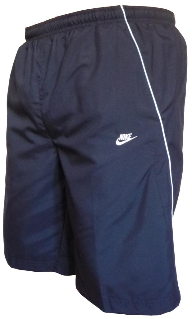 Mens Nike longer Navy swim shorts with zip pocket RP£20 | eBay