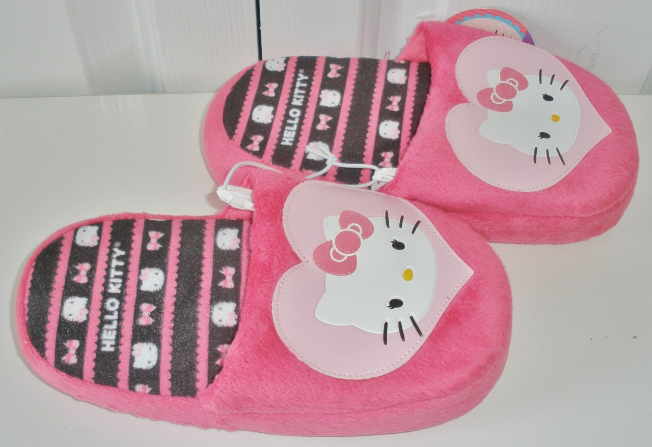 Hello kitty bedroom shoes