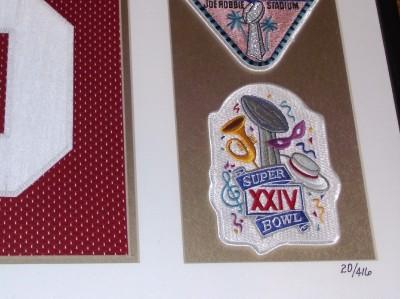 Joe Montana Autograph Super Bowl Jersey Framed UDA COA