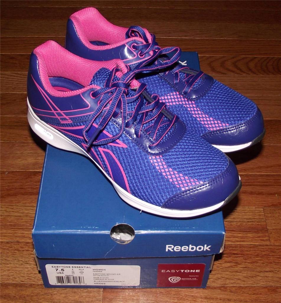 NEW Reebok Womens Easytone Essential Moving Air Sneakers ...