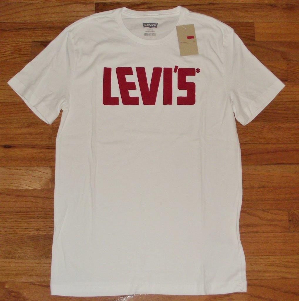new nwt mens levi strauss levi 39 s t shirt graphic logo tee choice 12 styles 2s ebay. Black Bedroom Furniture Sets. Home Design Ideas