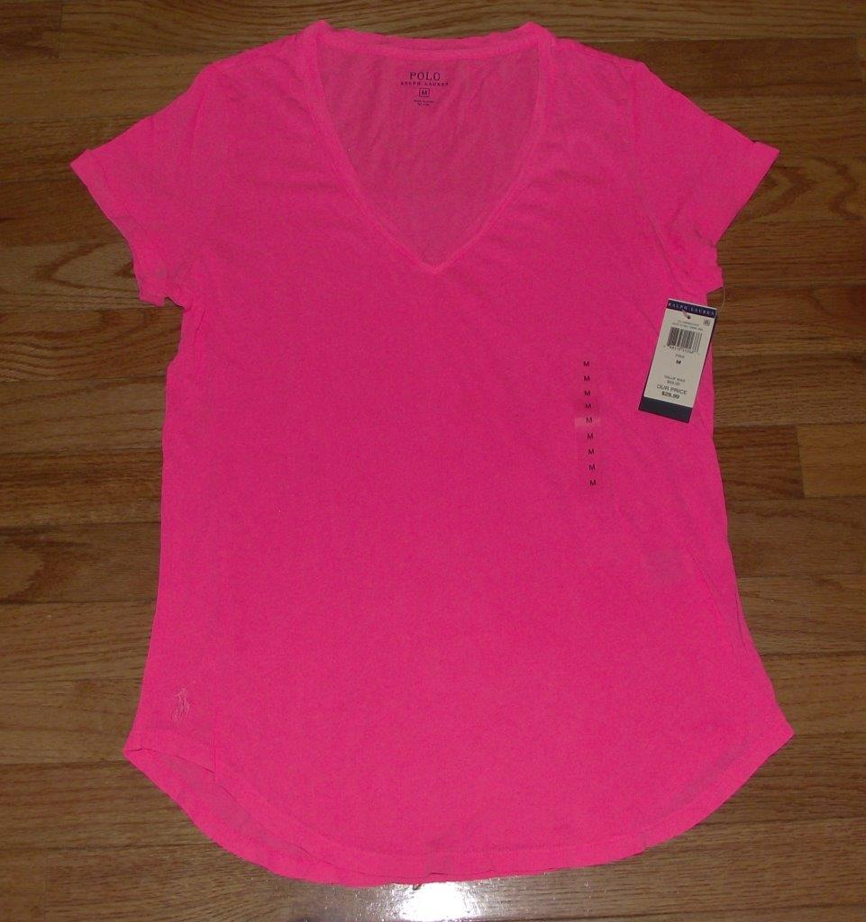 Buy Authentic Polo Ralph Lauren Womens Shirt Size Small Pink Online