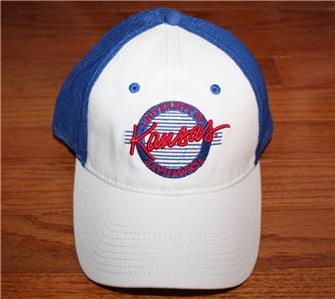 sale retailer 6e0f0 7c21e NEW NWT University of Kansas Jayhawks UK Hat Adjustable Snapback Cap  K5