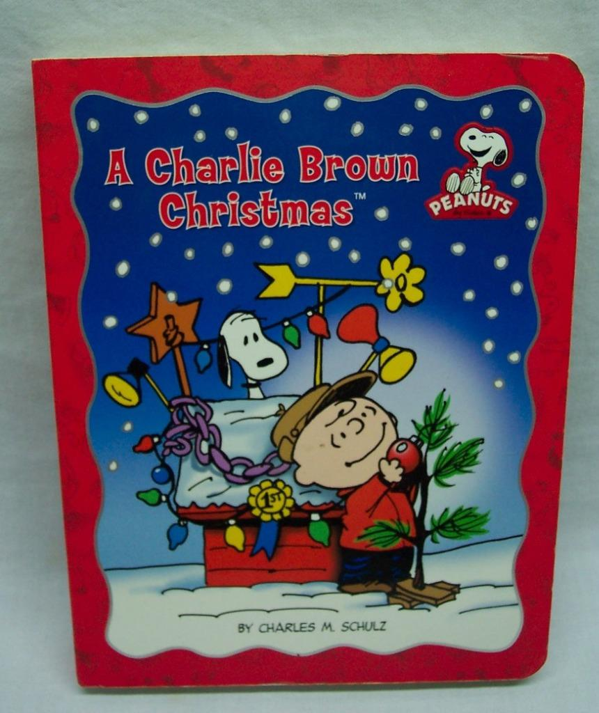 A Charlie Brown Christmas Book.Details About Peanuts A Charlie Brown Christmas By Charles Schulz Hardcover Board Book