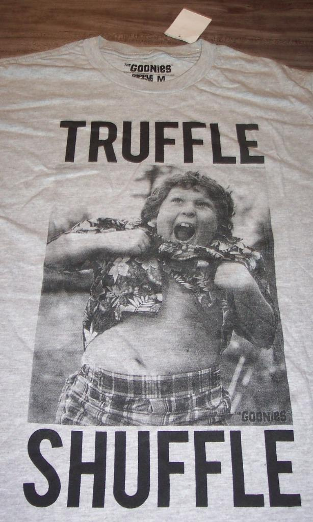The Goonies Truffle Shuffle Adult T-Shirt Officially Licensed Tee