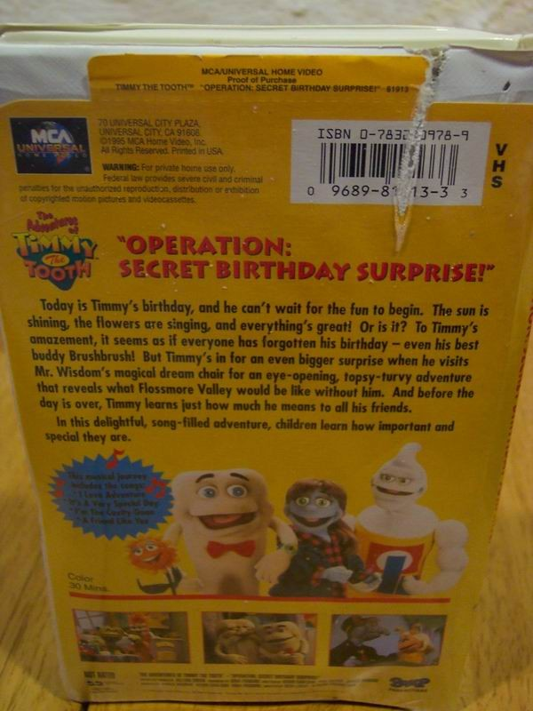 Lots Movies Timmy Tooth Elmo Barney Crayimage 73001
