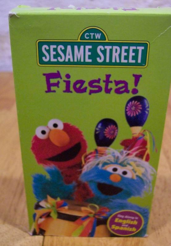 Sesame street vhs on Shoppinder